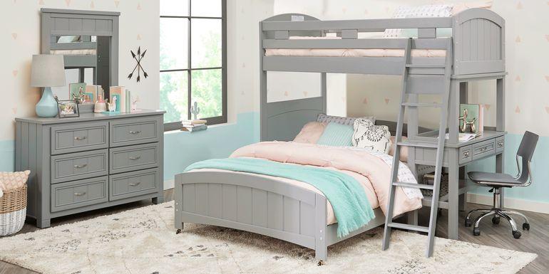 Girls Bunk Beds Loft Beds With Desks Slides Storage